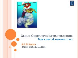 Cloud C omputing Framework Sit down and plan to fly