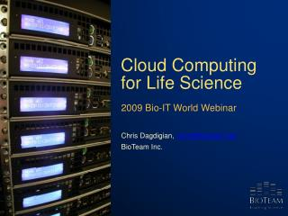 Distributed computing Forever Science