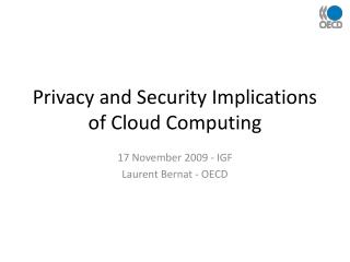 Protection and Security Ramifications of Distributed computing