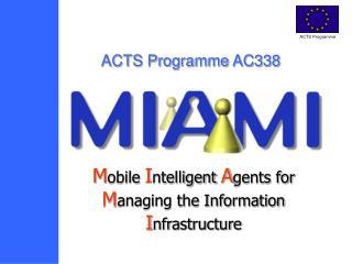 ACTS Program AC338