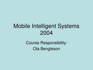 Portable Keen Frameworks 2004