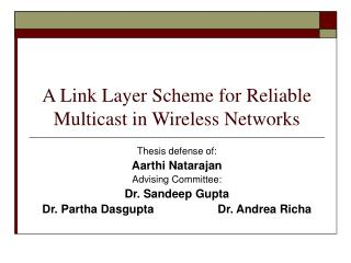 A Connection Layer Plan for Solid Multicast in Remote Systems