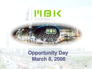 Opportunity Day Walk 8, 2006