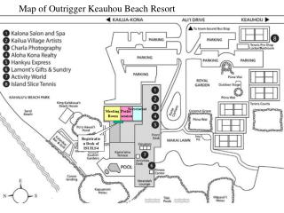 Guide of Outrigger Keauhou Shoreline Resort