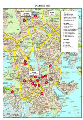 5-star inns 1. Crowne Court Lodging 2. Hilton Helsinki Strand 3. Radisson SAS Square Lodging 4. Scandic Lodging Mainland