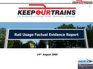 Rail Utilization Verifiable Confirmation Report