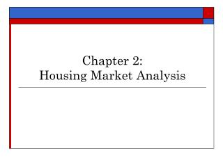 Part 2: Lodging Market Examination