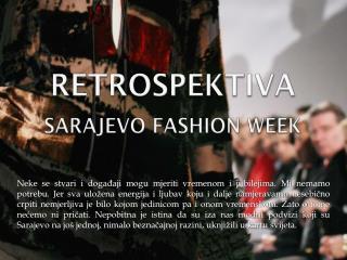 Sarajevo style week