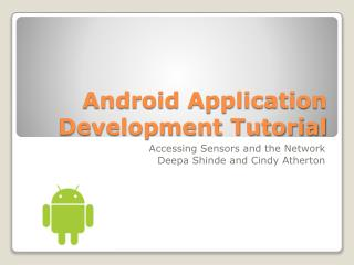 Android Application Advancement Instructional exercise