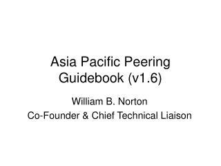 Asia Pacific Peering Manual (v1.6)