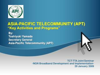 "ASIA-PACIFIC TELECOMMUNITY (Able) ""Key Exercises and Projects"""