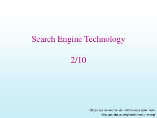Web index Innovation 2/10