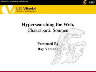 Hypersearching the Web, Chakrabarti, Soumen