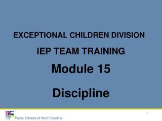 IEP Group Preparing