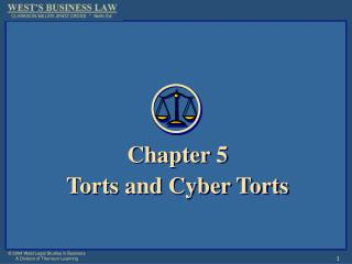 Section 5 Torts and Digital Torts