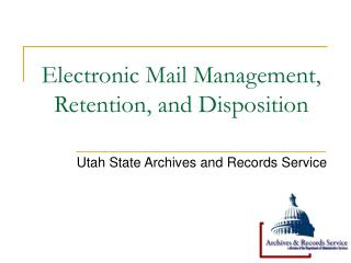 Electronic Mail Administration, Maintenance, and Air