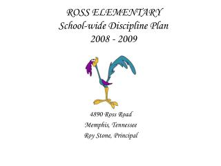 ROSS Primary all inclusive Control Arrangement 2008 - 2009
