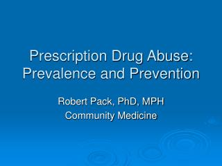 Professionally prescribed Medication Misuse: Commonness and Aversion