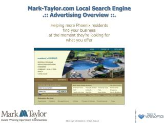Mark-Taylor Neighborhood Internet searcher .:: Promoting Diagram ::.