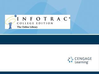 InfoTrac School Version