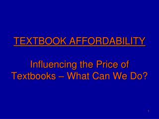 Course reading Moderateness Impacting the Cost of Reading material