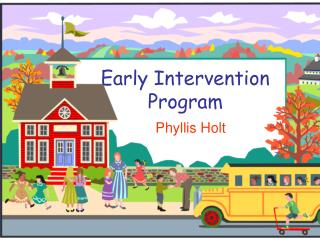 Early Intercession Program