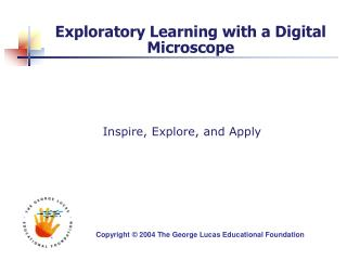 Exploratory Learning with a Computerized Magnifying instrument