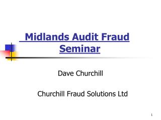 Midlands Review Misrepresentation Course