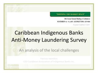 Caribbean Indigenous Banks Hostile to Tax evasion Study