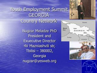 Youth Job Summit GEORGIA Nation System