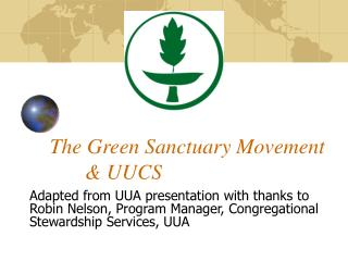 The Green Haven Development 	& UUCS