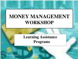 Cash Administration WORKSHOP