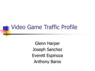 Computer game Movement Profile