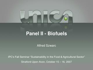 Board II - Biofuels