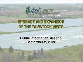 Overhaul AND Extension OF THE TAVISTOCK WWTP