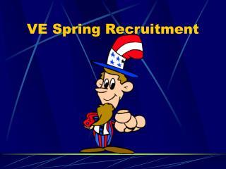 VE Spring Enrollment