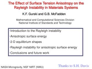 The Impact of Surface Strain Anisotropy on the Rayleigh Flimsiness in Materials Frameworks