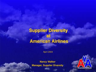 Supplier Differing qualities at American Carriers