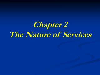 Section 2 The Way of Administrations