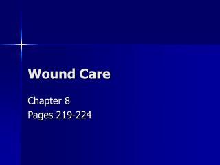 Wound Consideration