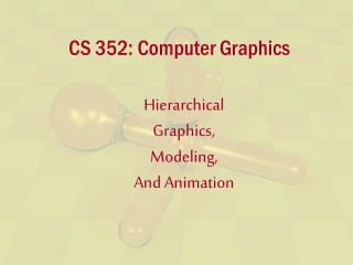 CS 352: PC Representation