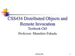 CSS434 Conveyed Items and Remote Summon Course book Ch5
