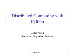 Appropriated Figuring with Python