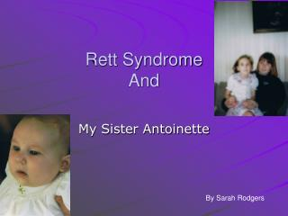 Rett Syndrome And