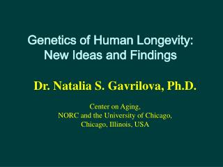 Hereditary qualities of Human Longevity: New Ideas and Findings