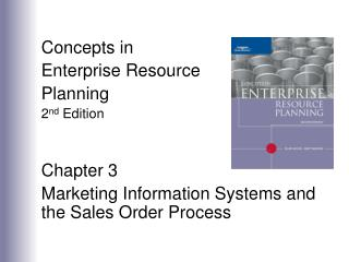 Ideas in Enterprise Resource Planning second Edition Chapter 3 Marketing Information Systems and the Sales Order Proc