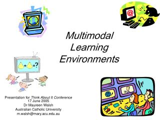 Multimodal Learning Environments