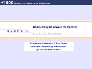 Competency system for instructors