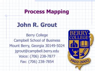Procedure Mapping