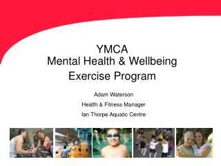 YMCA Mental Health Wellbeing Exercise Program